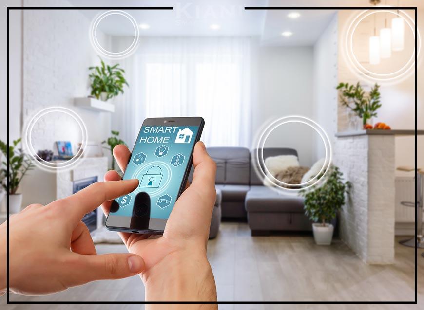 عکس هوشمند سازی خانه